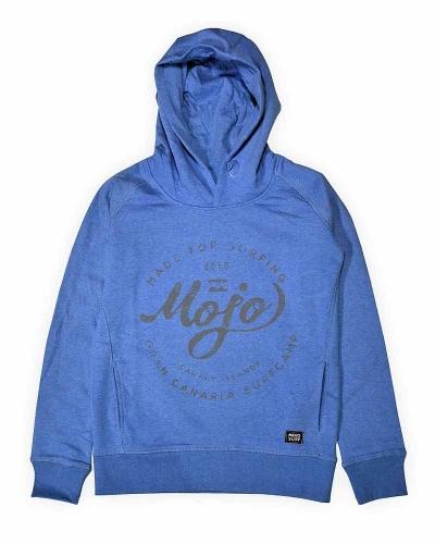 Hoodie Sweater - Mid Blue
