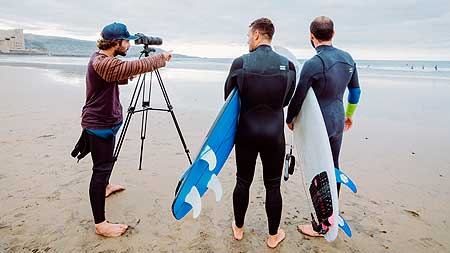 Video analisis de surf