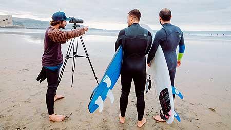 Video analisis de surf