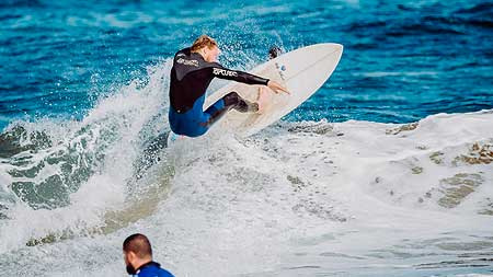 surf análisis y video grabación
