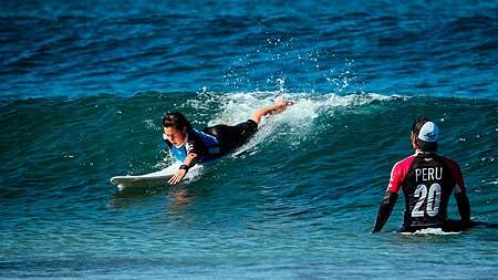 surf sin romper la ola