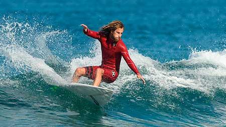 Cut back con surf análisis y video grabación